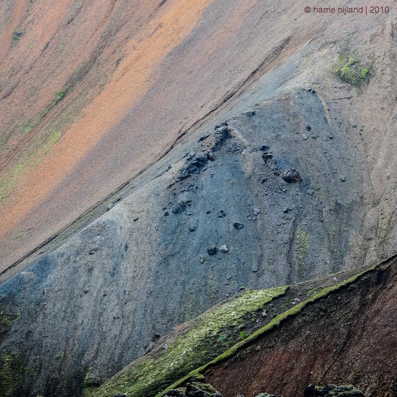 Mountainside Fragment | Landmannalaugar | Iceland