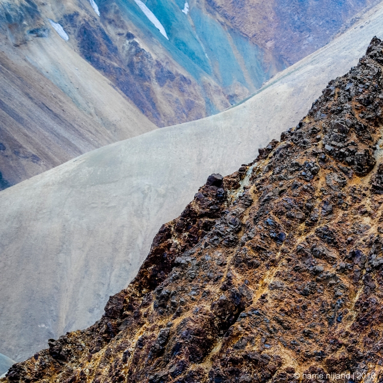 Mountainside Fragment | Landmannalaugar | Iceland