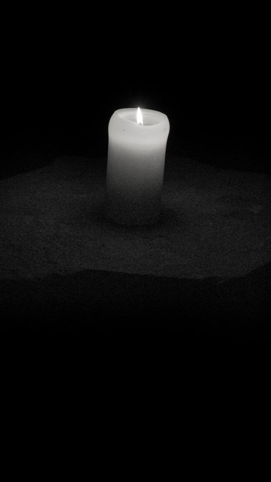 1/60s. Candlelight