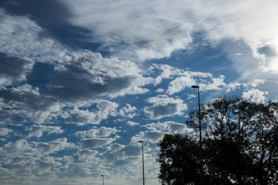 Clouds above the Highway