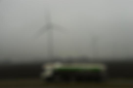 Green on a Tank-Truck