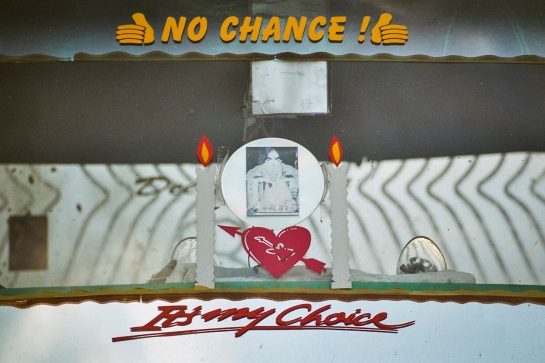 It's my Choice - No Chance!