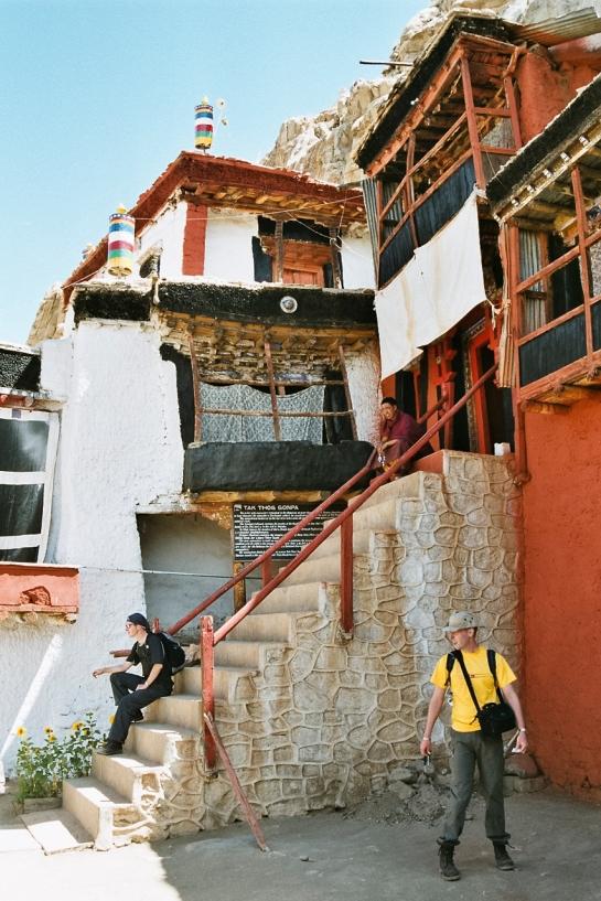 Takthok Monastery Stairs