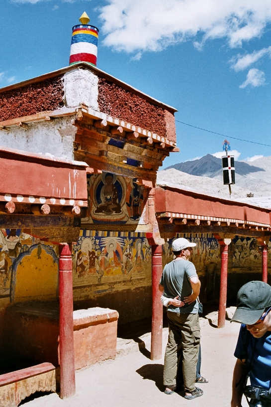 Takthok Monastery Courtyard and Colleages