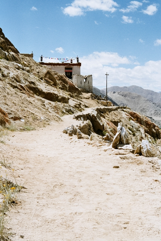 The Path to the Monastery