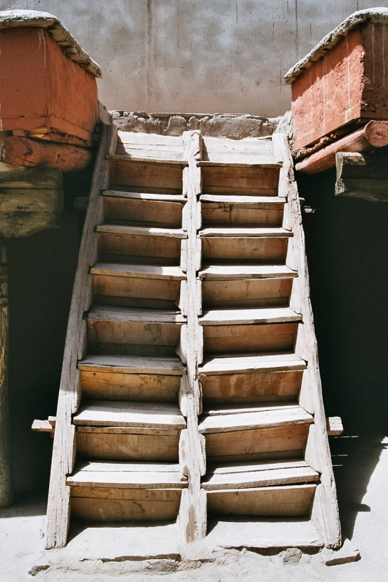 Hemis Monastery Stairs