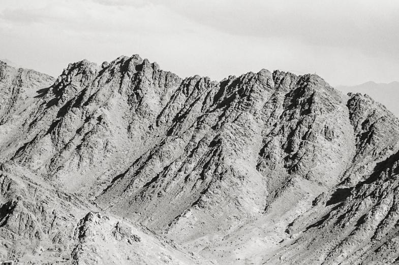 Hard Light on the Mountain side